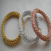 Colored twisty aluminum wire for handicrafts