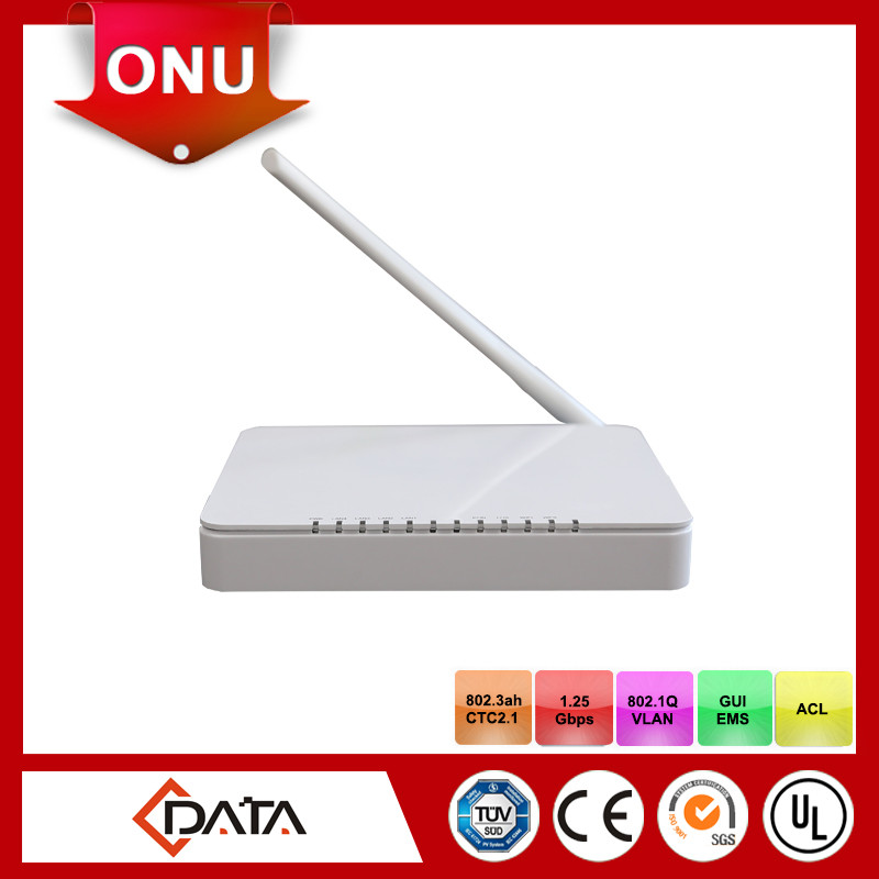 Home gateway Fiber GPON ONT with multicast feature