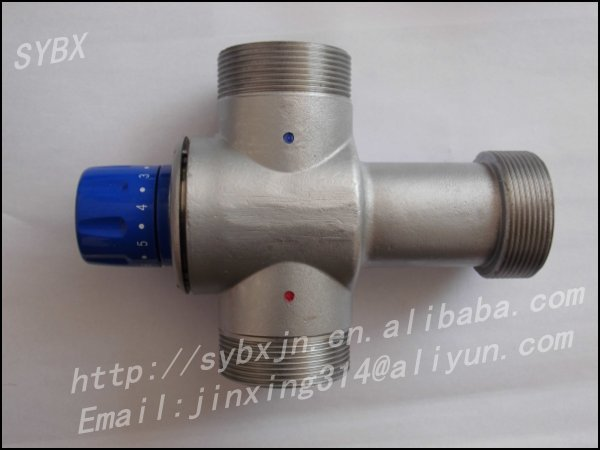 "Alibaba China Supplier 2"" DN50 Solar Energy Thermostatic Mixing Valve"