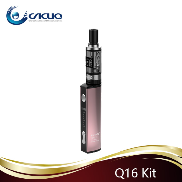 Hot Selling cigaretta e JUSTFOG Q16 Starter Kit With 900mah battery 2ml Tank