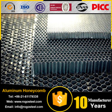 Side Length 0.4mm-20mm PP PC The Plastic Honeycomb Core With A3003/A5052/A1100