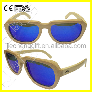 100% green and handcraf twood sunglasses china and bamboo glasses brand logo