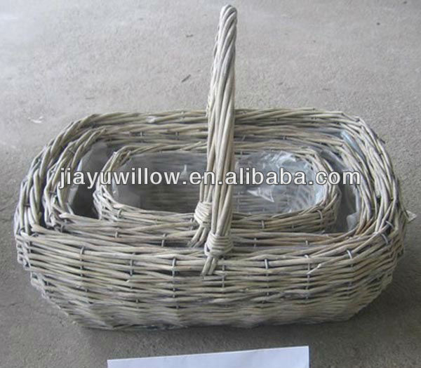 cheap Wicker plant Baskets pot