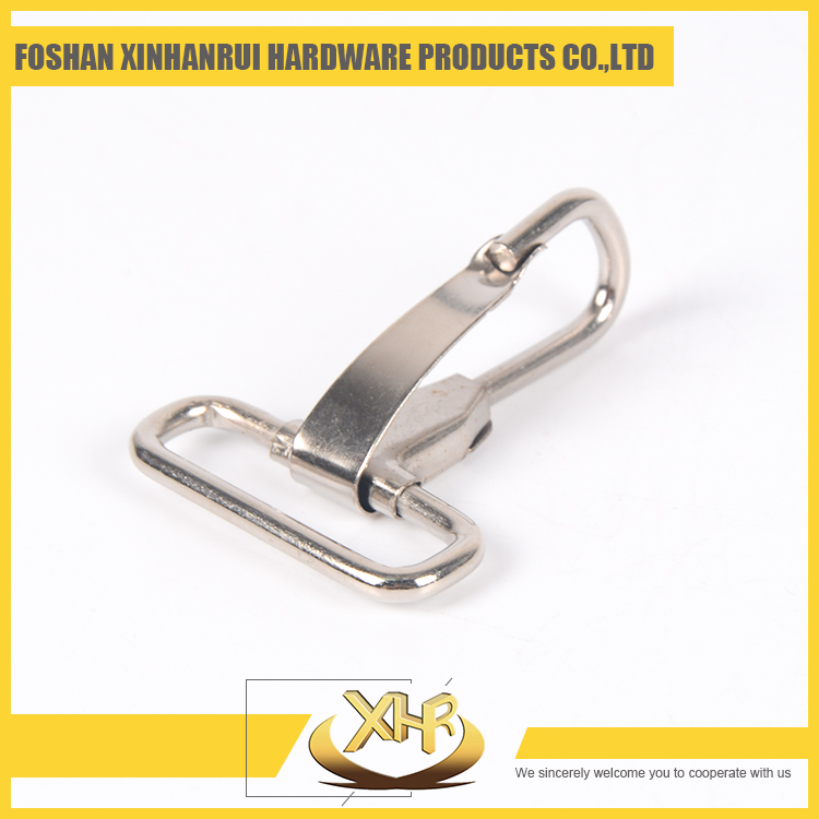Nickel iron keeping key ring ID32mm*H71 mm metal snap hook