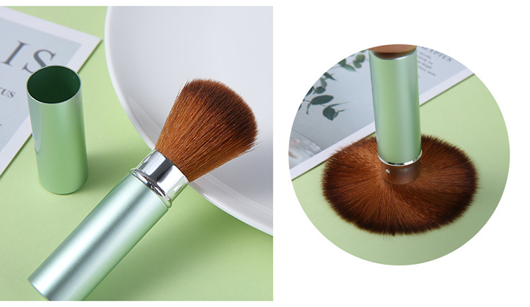 Professional OEM private label face foundation cosmetic makeup brush
