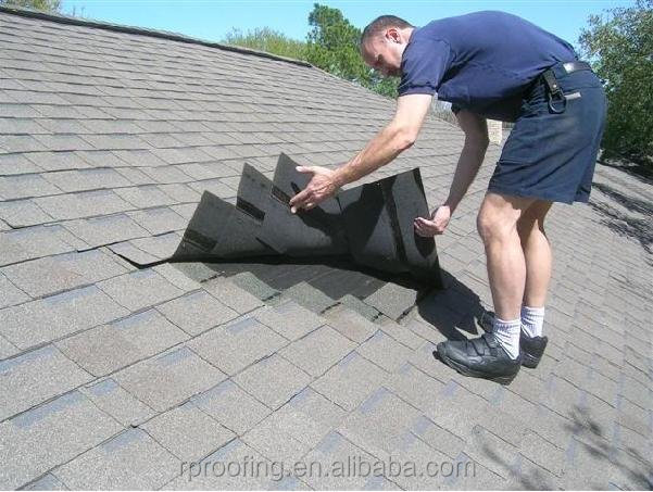 New design 3-tab shingle asphalt roof,villa roof tile for house using