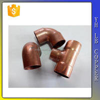 LB-Guten Top Contemporary classical socket fitting red copper pipe fitting