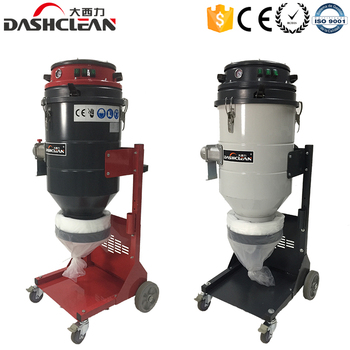3KW pulse dust collector concrete grinding and vacuum cleaner for industrial use