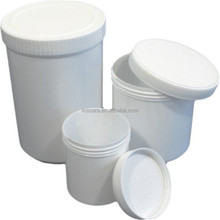 Cylindrical Ceramic Crucibles With Lid