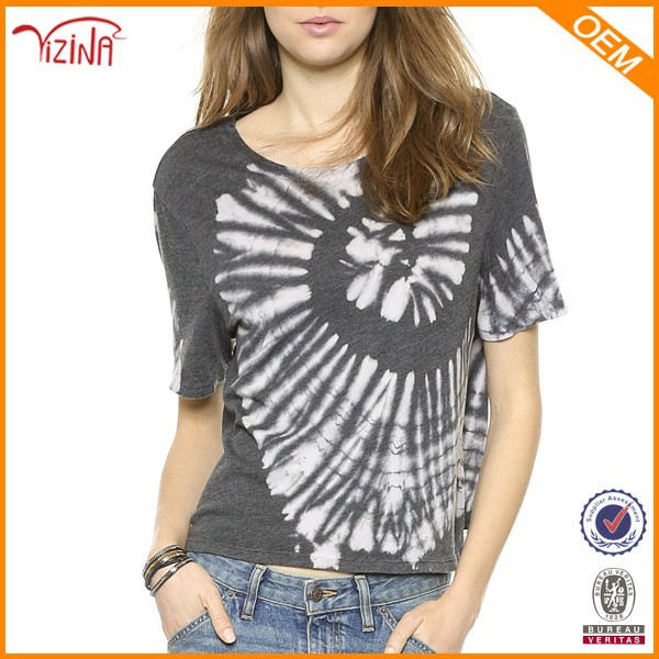 Loose Printed T Shirts Manufacturers In China For Wholesale Hippie Clothing