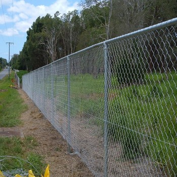 1.8m or 2.0m height chain link fence