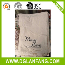 Hot Sale Custom Logo Printed Linen Cotton Bread cotton drawstring bag 20150714114