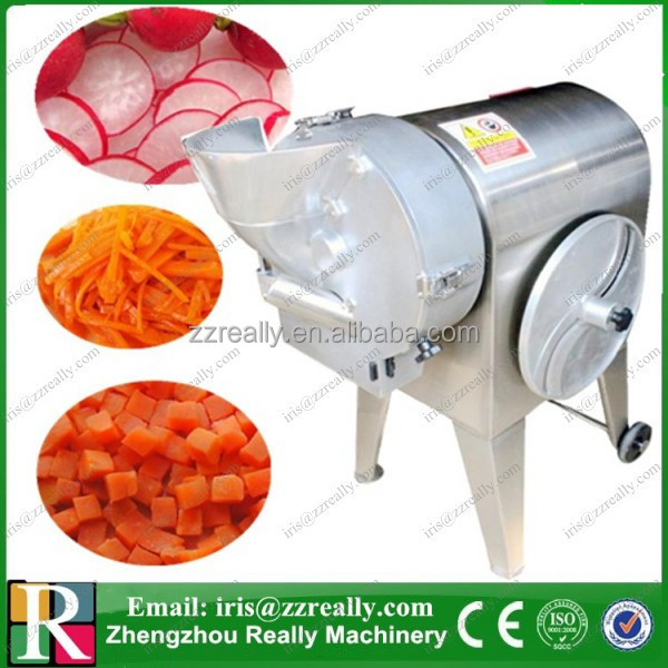Multifunctional automatic commercial high output stainless steel electric vegetable dicer, slicer, shredder