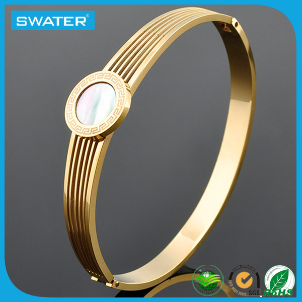 Gold Plated Jewelry Fashion Bracelets For Elderly