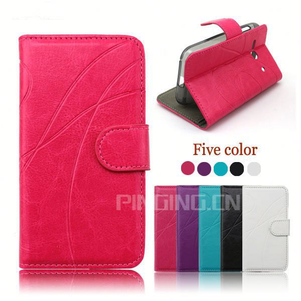 factory price leather cell phone case cover for samsung galaxy mega 5.8