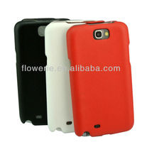 FL638 guangzhou durable Genuine Leather case for samsung galaxy note2 flip case perfectly fit!! STOCK