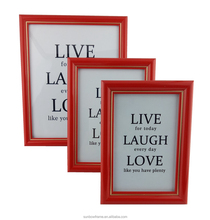 Factory price plastic desktop picture frame for wholesale