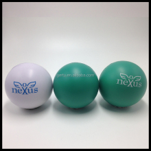 branded round squishy stress ball