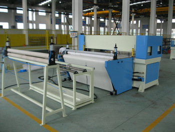 Auto feeding continuous cutting by conveyer belt precision four column hydraulic plane leather strip cutting machine