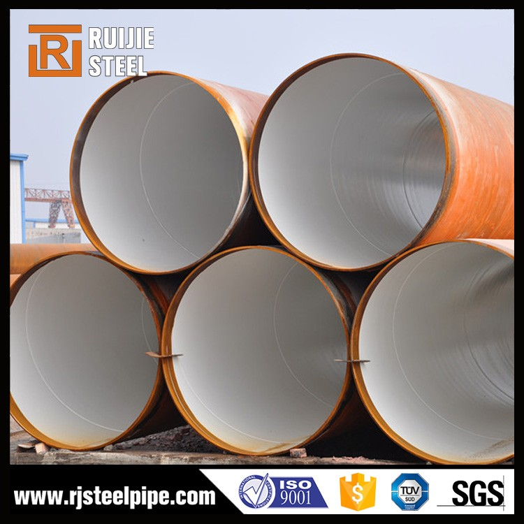 DN500 pe casing epoxy coating spiral steel pipe for oil and gas line