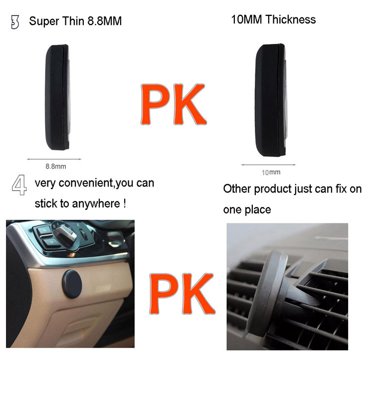 Ultra Slim Design Mobile Phone Holder for car