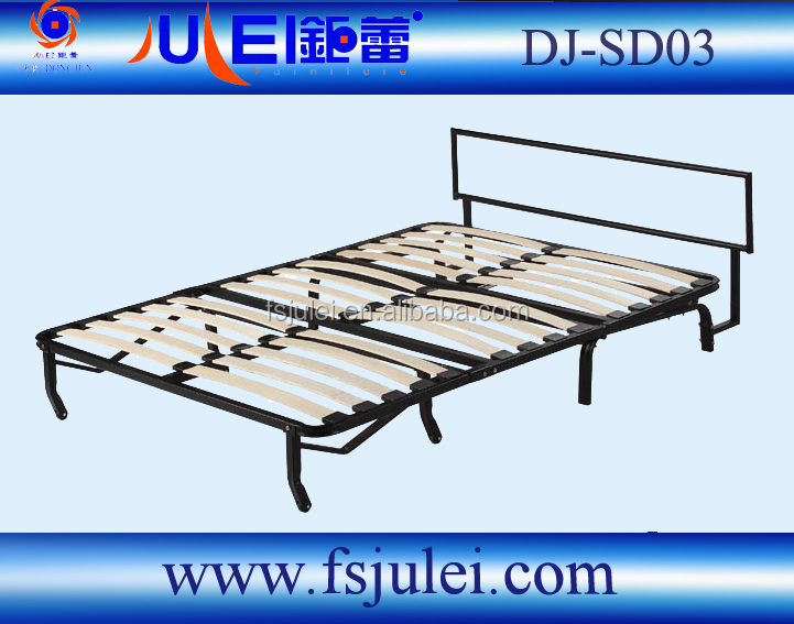 strong wrought iron steel sofa cum bed fittings DJ-SD03