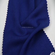 plain dyed fake silk royal blue heavy crepe fabric