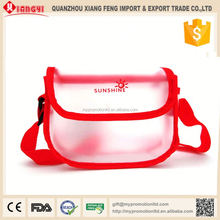 Creative waterproof pvc mini laptop messenger bag