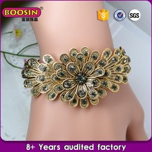 Cheap Alloy Fashion Custom antique style indian gold filled bangles