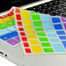 Custom silicone dustproof laptop keyboard cover protector for Mac