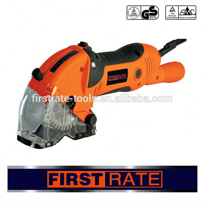 450W 85mm cheap electric mini tile cutter wood cutting saw blade with laser