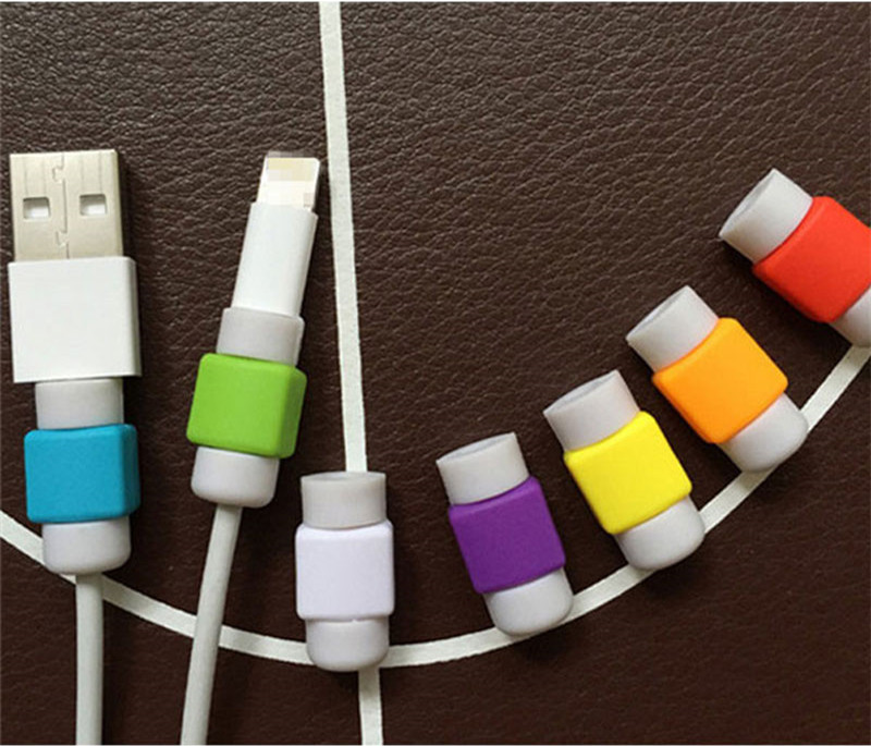 Charger Protector for Apple for iPhone Protective Accessories Mobile, For iPhone Rubber Cable Protector,Phone Accessory