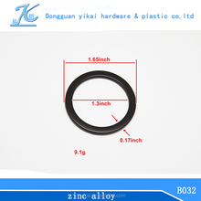 new design zinc alloy metal ring,alloy o ring,metal round ring