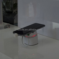 Easy install mobile phone security display stand with charge &alarm