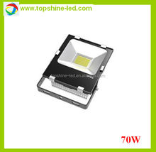 professional 70 watt white color led flood lighting outdoor