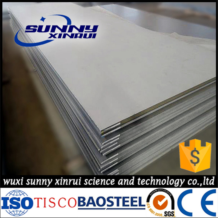 China manufacture aisi 316 2' stainless steel foam sheet
