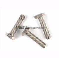 Hexagon head bolts with fine pitch thread - Product grades A and B DIN 961
