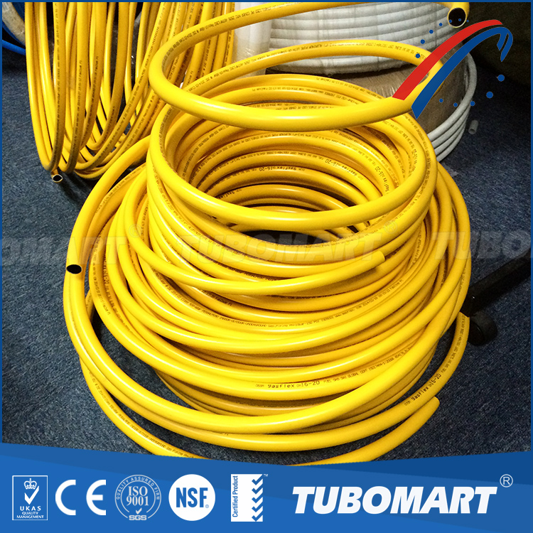 Profession supplier Best grade yellow pipe PEX-AL-PEX natural gas pipe with factory price
