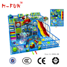 Factory Used Commercial Plastic Kids Outdoor Daycare Playground Equipment