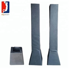 inground basketball hoops post padding pvc material hot sale