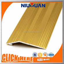Woodfoil Aluminum Laminate Floor Tile to Carpet Transition Strips