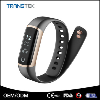 Wholesale Bluetooth 4.0 heart rate monitor smart bracelet with IP68 waterproof