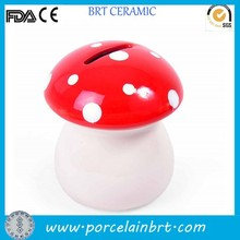 Ceramic mushroom money box Cheap Door Gift