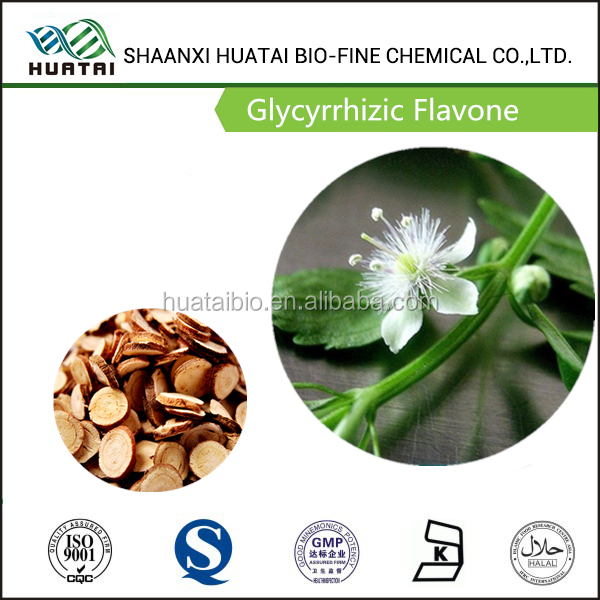 Treatment For Diabetes Herbal Medicine Glycyrrhizic Flavone Powder From Licorice Root Extract