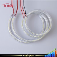 B-deals two choices SMD plastic cover Angel Eyes led Rings for Mitsubishi LANCER X