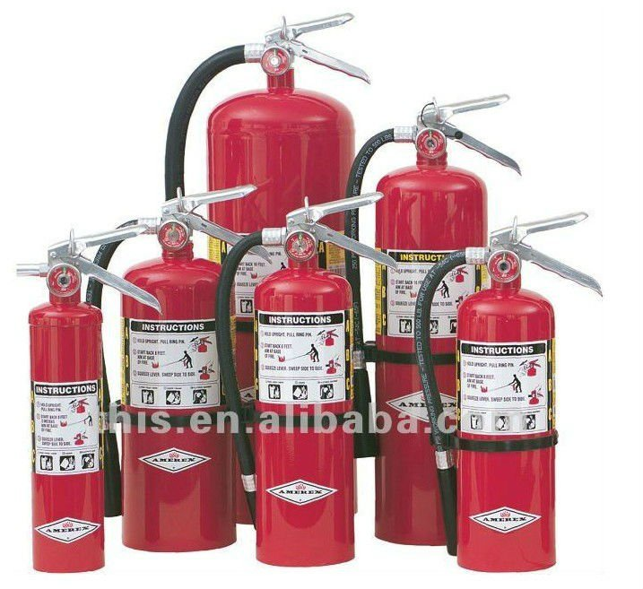 ISO9001 portable abc type fire extinguisher
