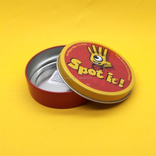 CUSTOM EMBOSSED SEAMLESS CANDY SWEET PROMOTIONAL GIFT TIN CAN BOX CONTAINERS