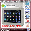 "7"" Dual core Android 4.1 Tablet Pc Pad 3g Sim Card Phone HDMI"