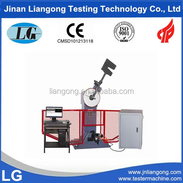 300J Room Temperature Charpy Pendulum Impact Test Equipment with Digital Display and Computer Control (JBS-JBW Series)