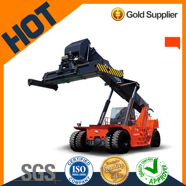 Dalian brand diesel 45 ton reach stacker for containers CRS450Z5